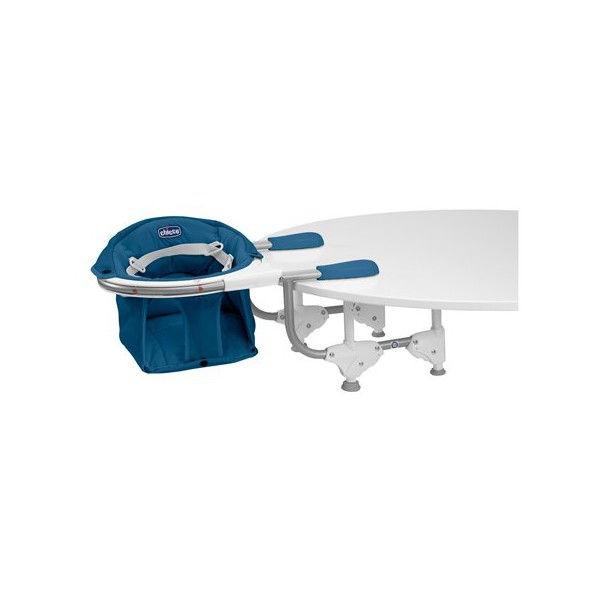 Chicco 360°(Fok)-ban elforgatható asztalra szerelhető etetőszék (Deep Blue)