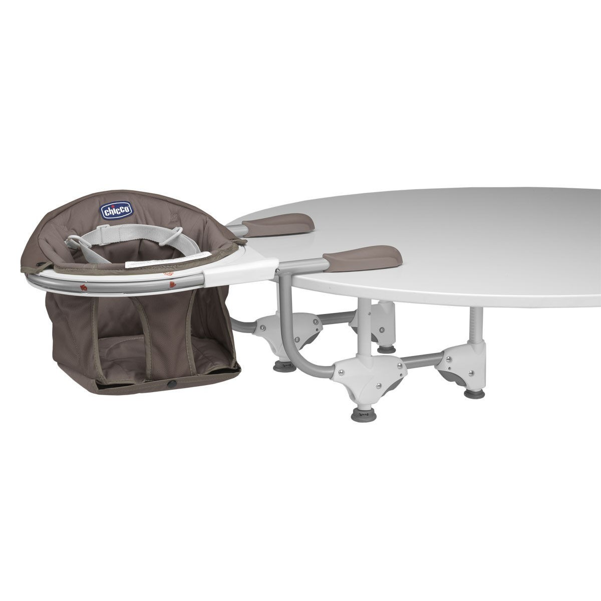 Chicco 360°(Fok)-ban elforgatható asztalra szerelhető etetőszék (Cocoa)