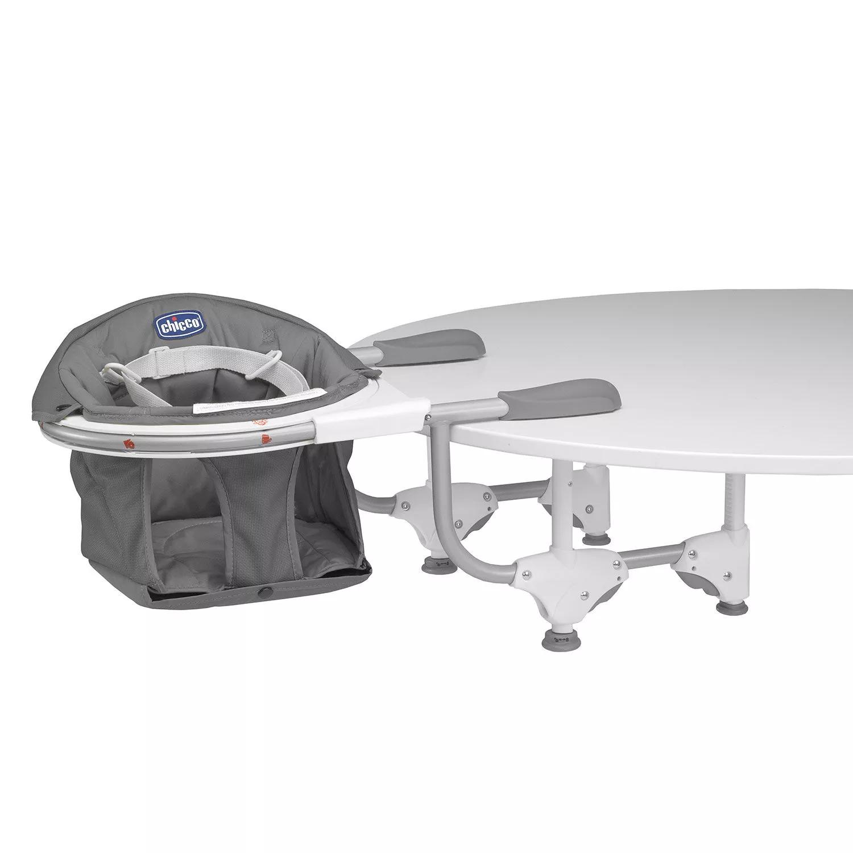 Chicco 360°(Fok)-ban elforgatható asztalra szerelhető etetőszék (Grey)
