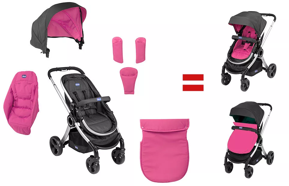 Chicco Urban 2-in-1 sport babakocsi (Cherry) - Brumi Maci Bababolt ad27bf64df