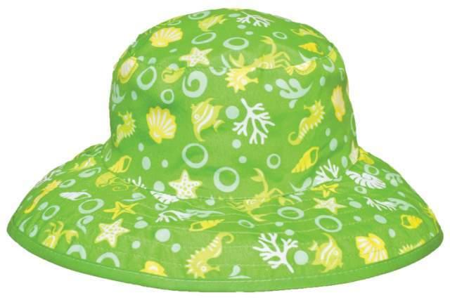 KidzBanz UV védős kifordítható sapka (Zöld tenger - Zöld) - Brumi ... 20f66df551