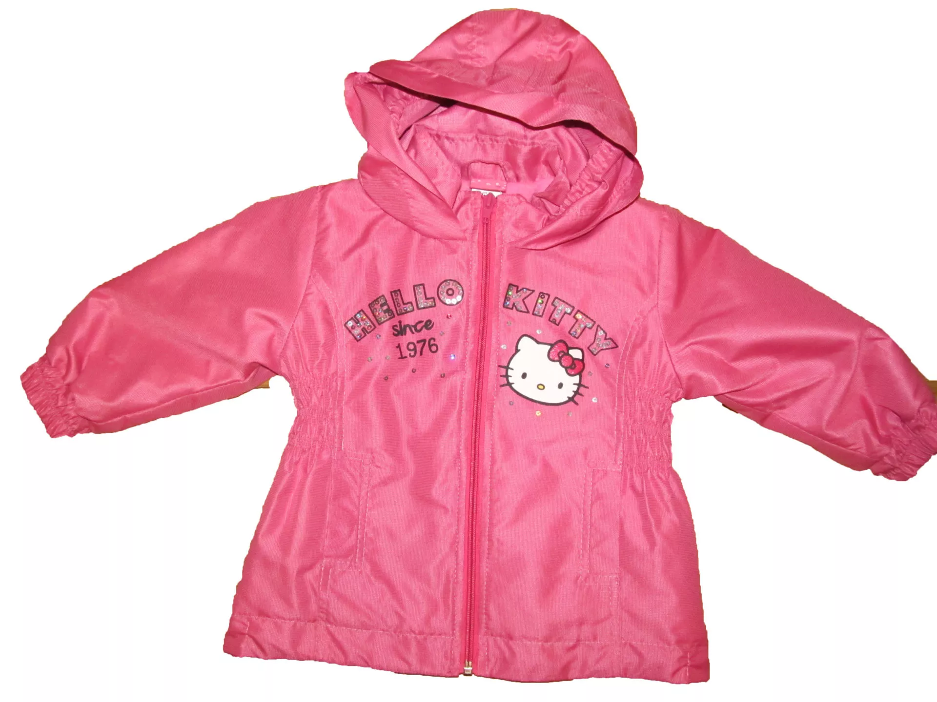 Vízlepergetős átmeneti kabát (Rózsaszín) - Brumi Maci Bababolt 3167f6aeff